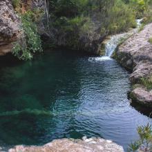 Un des sept lacs à Ifanoto