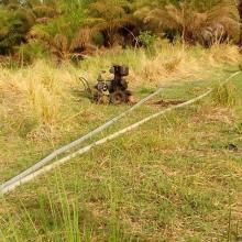 Système d'irrigation pour l'arboriculture dans campement de chasse de Tapoa-Djerma