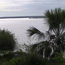 Vue ensemble lac Mandrozo
