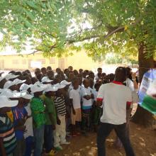 Sensibilisation des élèves à la protection des ressources de la zone humide par l'OSS