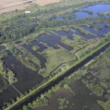 Vallée de la Somme et canal entre Amiens et Abbeville