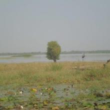 Vue du Lac Bam
