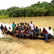 Sortie d'éducation environnementale avec les élèves du CEG de Folonzo