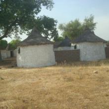 Bungalow servant de logement pour les touristes