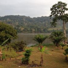 Paysage de Mboungou Badouma et de Doume