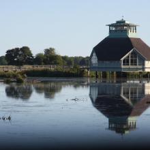 Visitor centre naturum Hornborgasjön