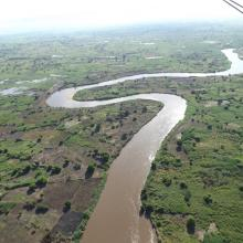 Skyview of River
