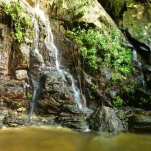 Island House Waterfall