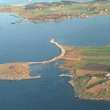 Aerial photo of sub-site Børaunen