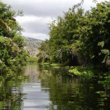 Vue du canal Matoutia