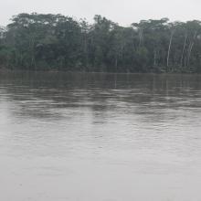 Río Aguarico comuna Kichwa Zancudococha