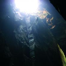 Isla de Ons. Cueva Burato do Inferno