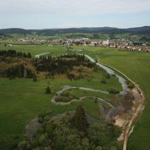 Source du Doubs et tourbière du Moutat - Mouthe