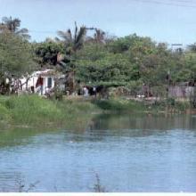Laguna La Colorada en lluvias. 2000