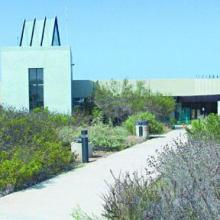 Tijuana Estuary visitor centre.