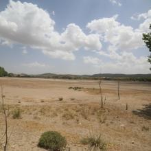 Dayet Awwa à sec (secteur amont/ouest)