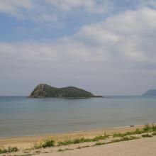 Vue panoramique de l'Ilôt de Cala Iris
