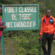 Photo 10: Panneau de signalisation de la Forêt classée de Tissé, une des 9 forêts classées comprises dans les limites du site Ramsar