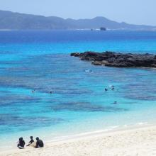 1. Overview of Furuzamami beach in Zamami Island