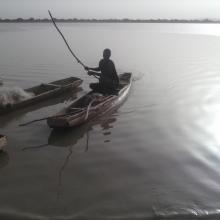 Pêche pratiquée sur le lac Higa