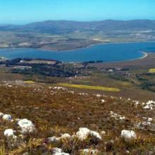 Panoramic of Bot/Kleinmond Estuarine System