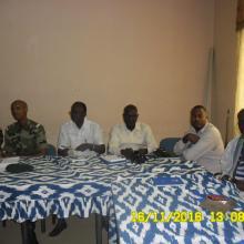 Initiation des gardes de la réserve et de certains  membres de l'AIV aux techniques d'identification et de dénombrement de l'avifaune.
