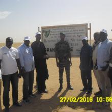 Visite Mission BAD dans la réserve du Ndiael(lisière Grande mare)