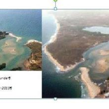 photo aerienne de la reserve de somone