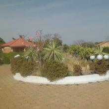 Vue de la cours du centre écotouristique