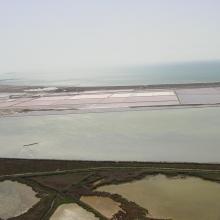 Salinas de Santa Pola. Vista aérea