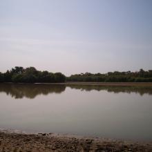 Lac Wegnia en étiage