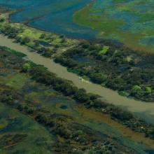Riacho el Brasilero, provincia de Entre Ríos