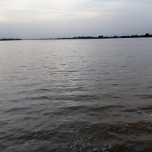 Vue des lacs des barrages