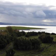 Vista towards the mainland