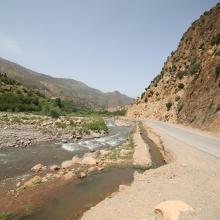 Assif Aït Bou Guemmaz à Tabant, loin en aval de ses sources