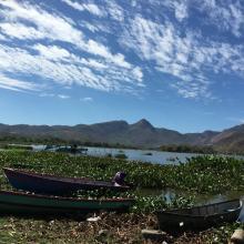 Panorámica Laguna de Olomega