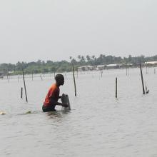 Pêcheur sur le Lac Ahémé
