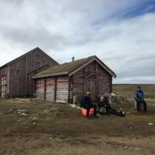 The Hammerfest building, the oldest standing building on Svalbard