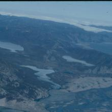 South side of Eqaluumiut Nunaat, with Kuuk marshes - an importnat area for Greenland White-fronted Goose