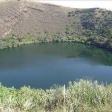 Lago cratérico la Alberca de los Espinos