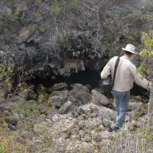 Karst well at Klein Bonaire